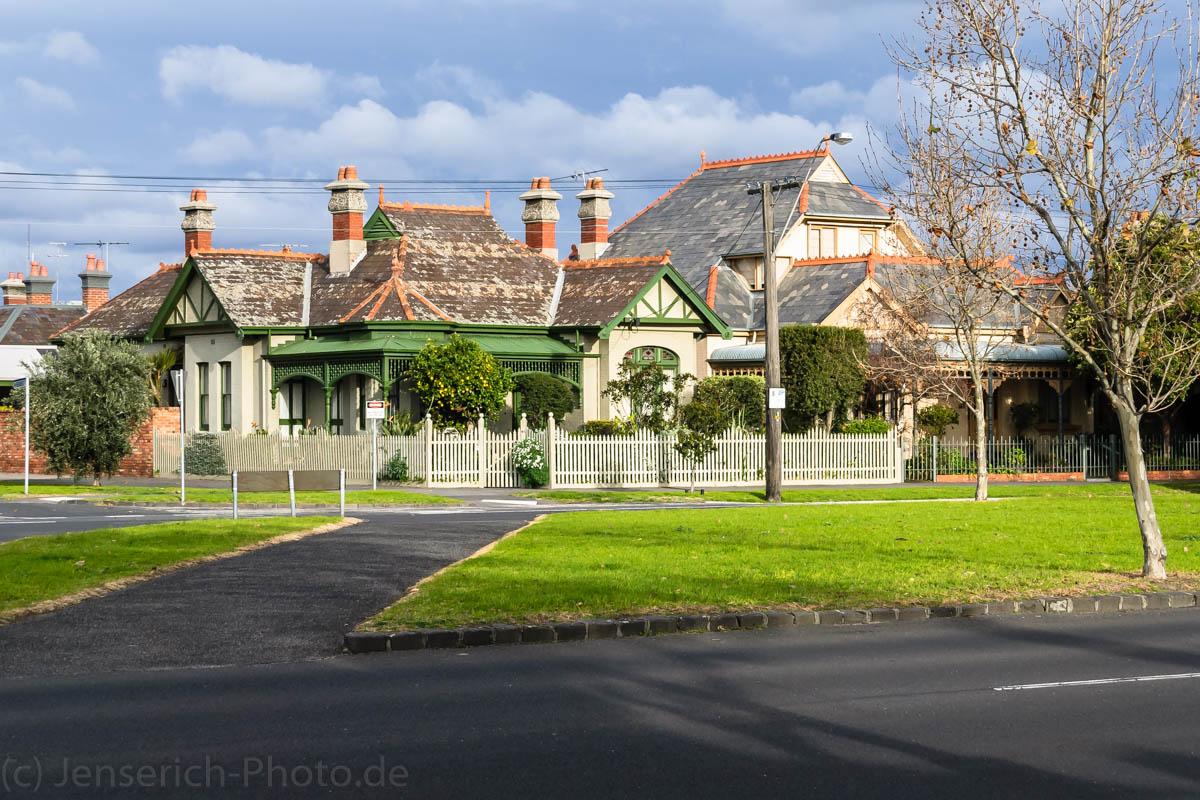 Ein Haus in Melbourne zwischen Albert Park und der Port Phillip Bay.