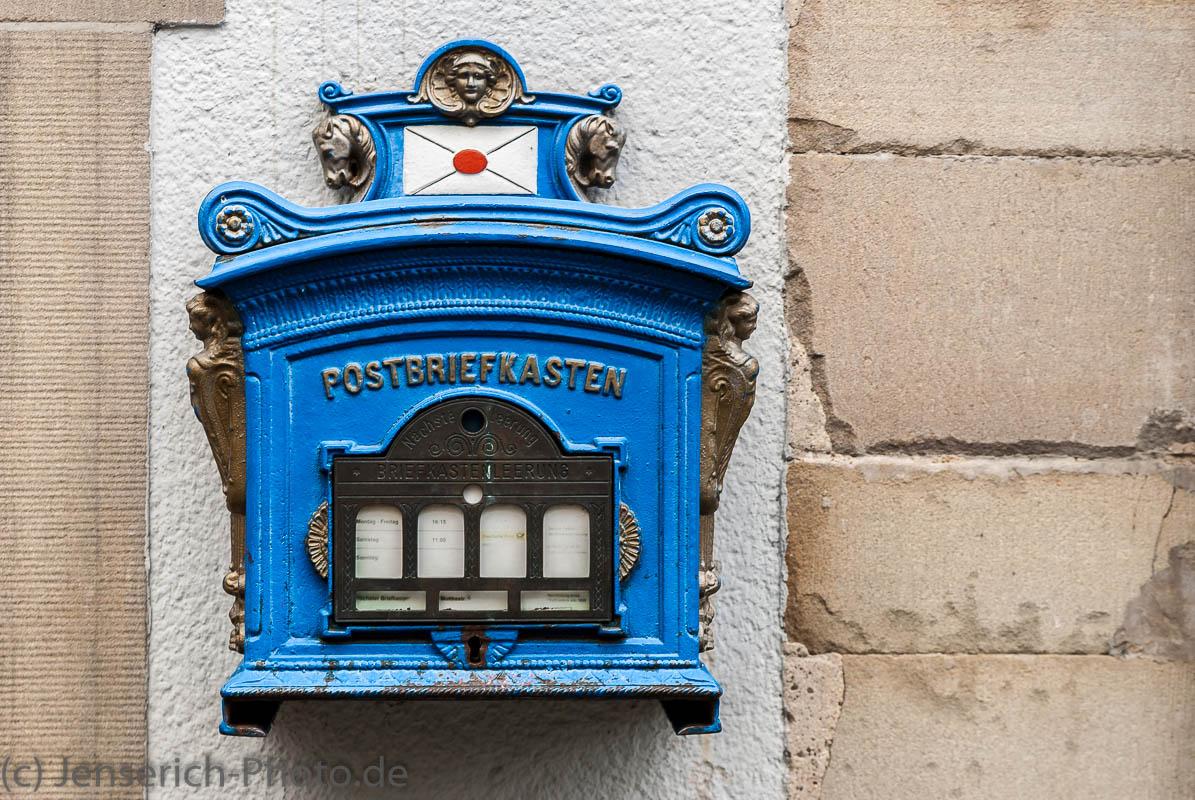 Ein Briefkasten in Hattingen