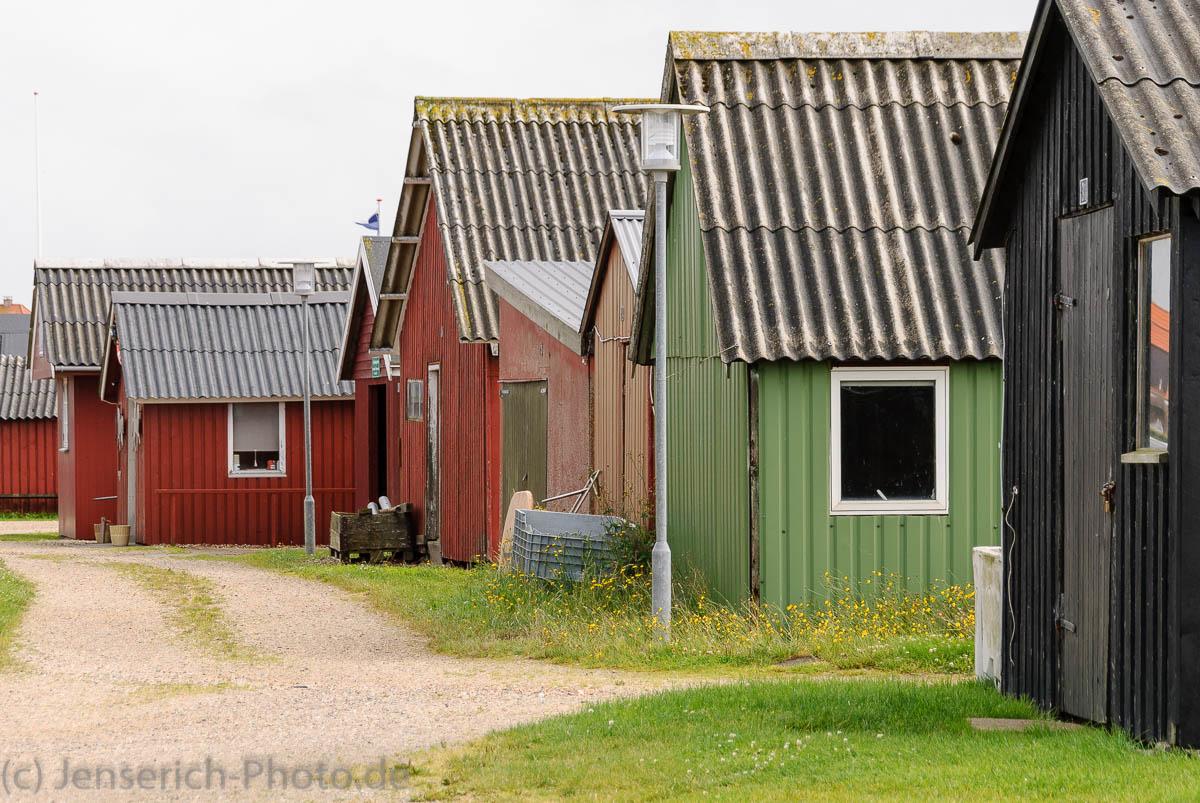 Fischerhütten in Ringkøbing