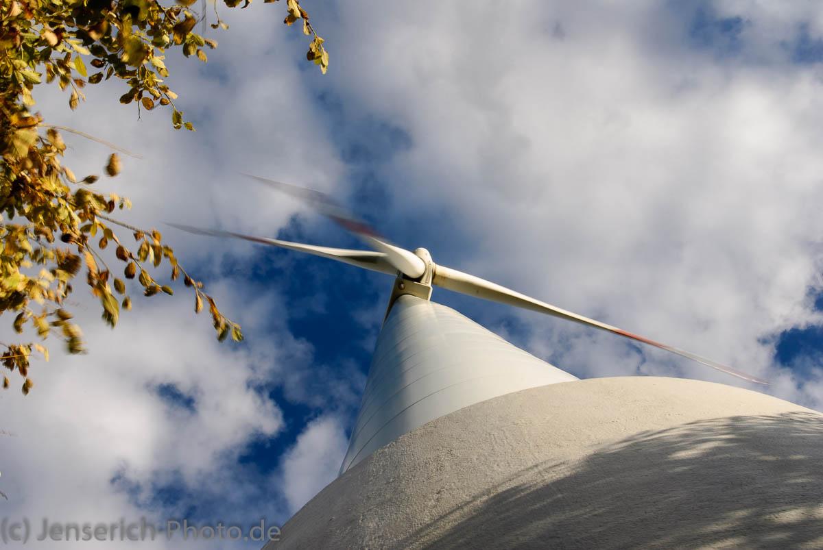 WKA - Windkraftanlage bei Witten